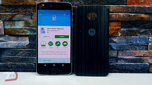 Moto Mods Manager gets new update, adds support for the Moto Power Pack
