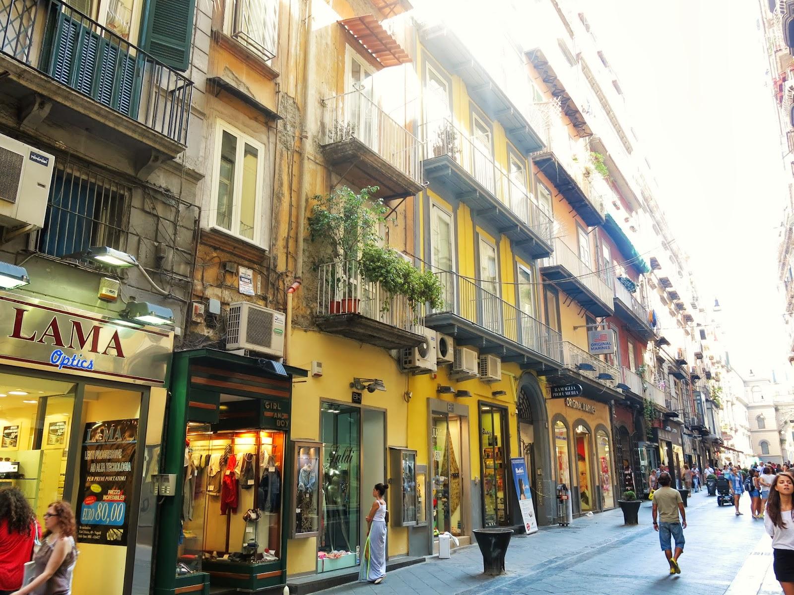 Neapel i Italien