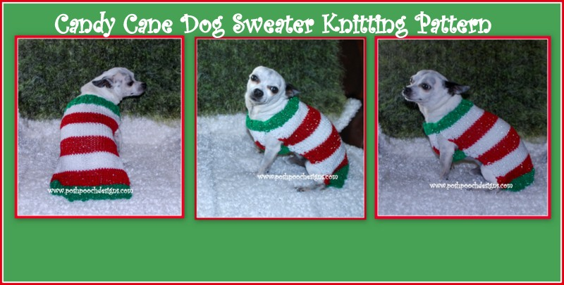 Posh Pooch Designs Dog Clothes Christmas Candy And Candy Cane Dog