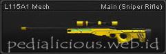 Senjata Point Blank L115A1 Mech