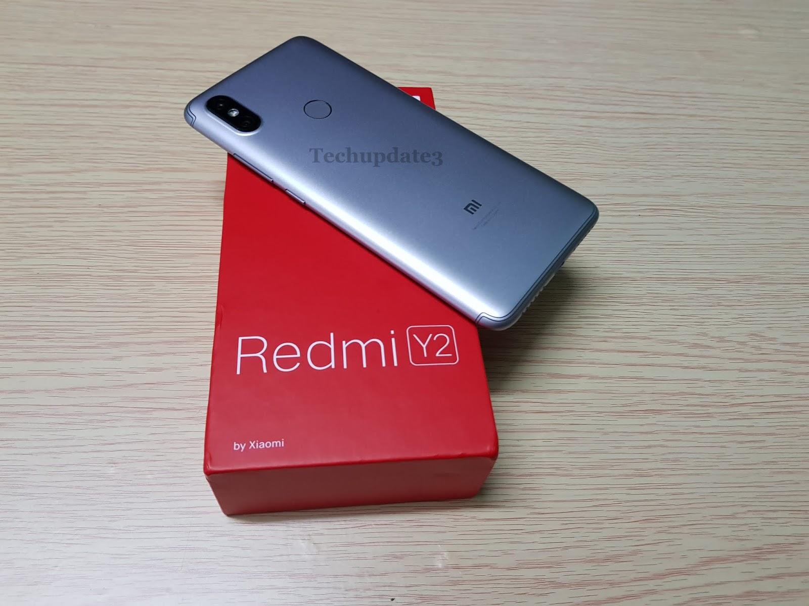Xiaomi Redmi Y2 : Face Unlock , Fingerprint Scanner Setup, Dual Apps