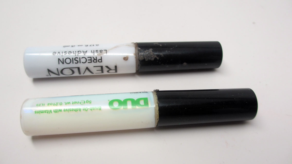 fc79dd52fb2 Eyelash Glue 0600 Clear Best Eyelash Glue: Product Battle: Duo Brush-On  Adhesive Vs Revlon Lash