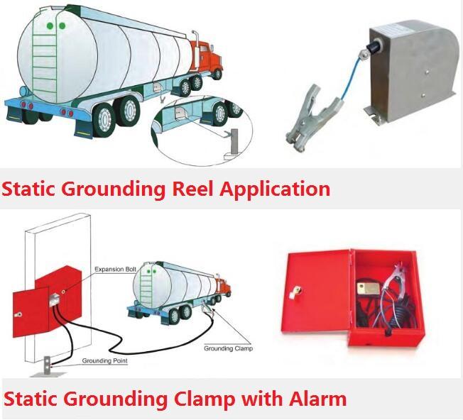 Static Grounding Reel Static Grounding Clamp Price Cheap