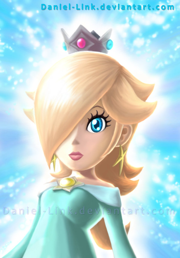 Quot Princess Rosalina Quot Super Mario Galaxy Games Wallpaper