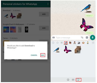 Cara membuat Stiker WhatsApp Khusus dengan keren