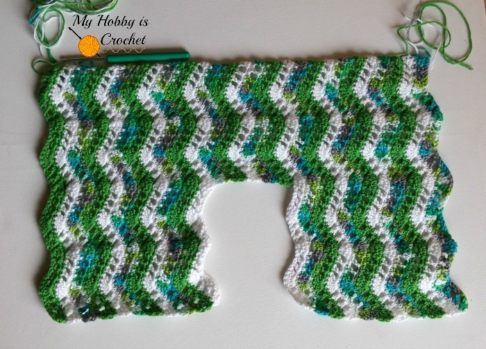 ropical Waves Bolero | Free Crochet Pattern with Tutorial