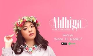 Lirik : Aldhiya Feat. Cassandra - Nada Di Nadiku