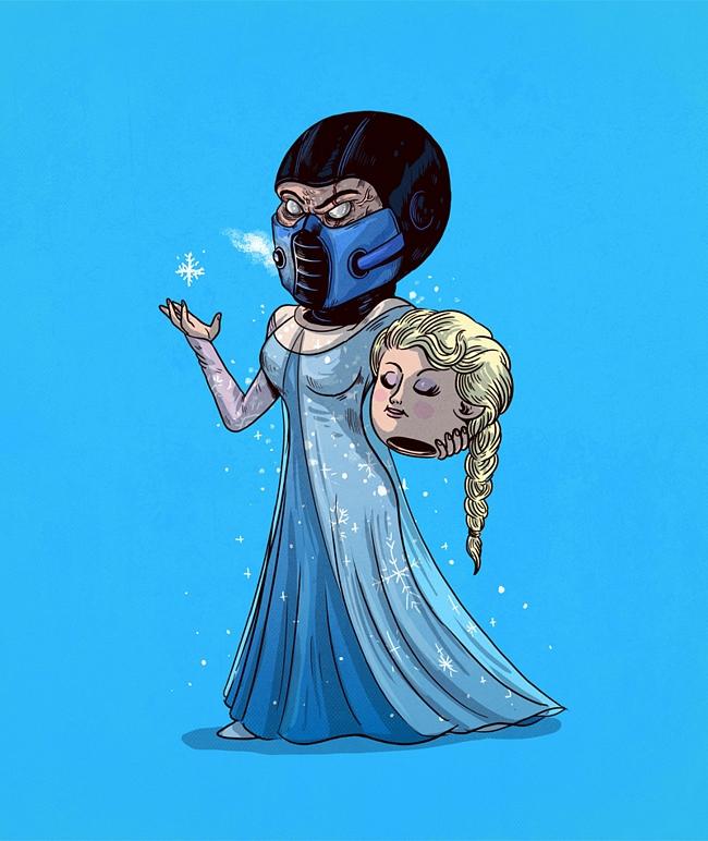 a mascara por tras dos personagens frozen - A máscara por trás dos seus personagens favoritos