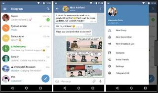تحميل, تطبيق, تليجرام, Telegram, على, الهاتف, المحمول