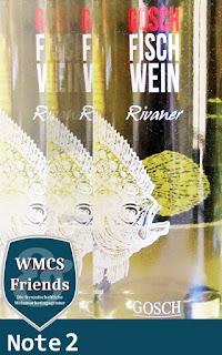 Gosch Fisch Wein - Rivaner - Baden 2015