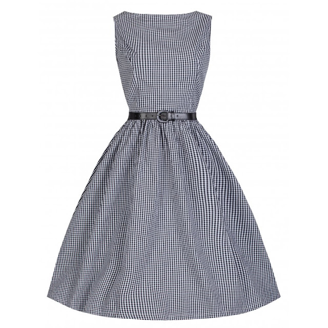 audrey-50s-inspired-black-gingham-rockabilly-dress