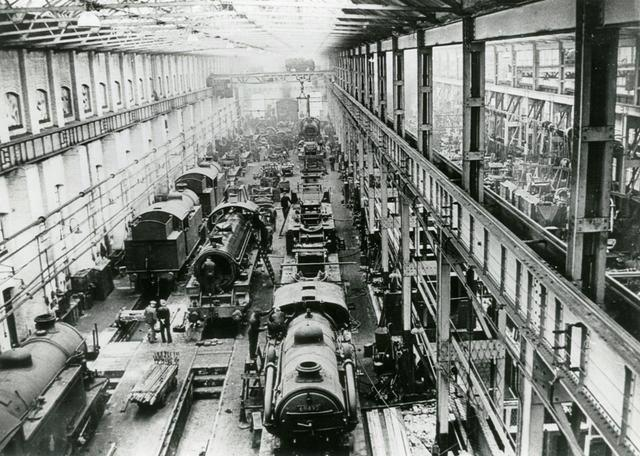 Shed Bash Uk Stratford Works 1957 1961