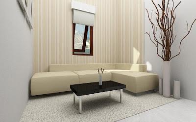 Desain Interior Ruang Tamu Sempit