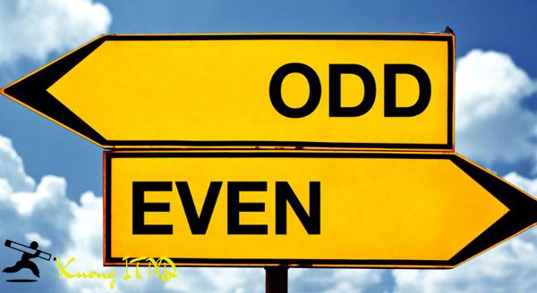 Odd là gì? Even là gì? Chẵn và lẻ trong từ điển tiếng Anh