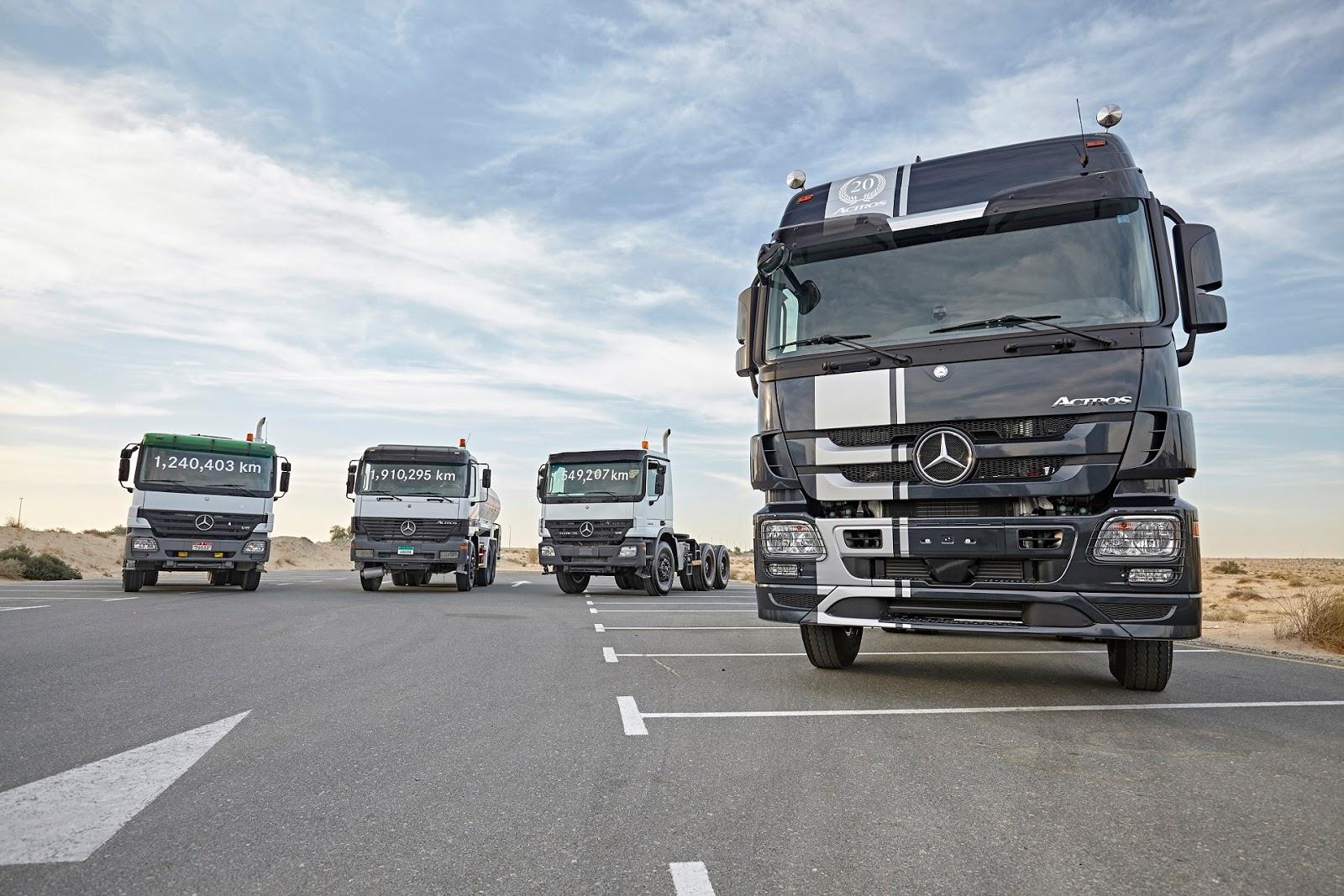 Company news in egypt mercedes benz trucks mena for Mercedes benz small trucks