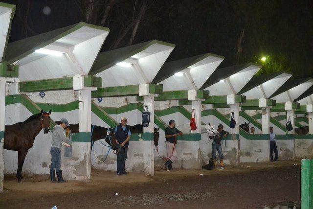 Hipódromo de La Plata Boxes Iluminados