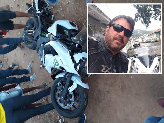 Luto: Paulo Kruschewsky morre em acidente de moto na região de Irecê