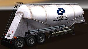 Cimpor Company Cement trailer standalone