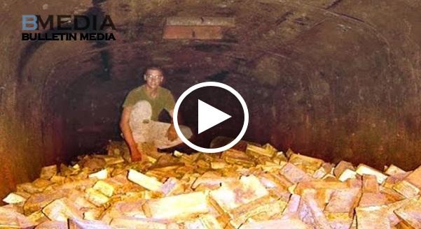 [VIDEO] Jongkong emas dijumpai didalam gua filipina..