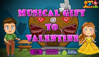 Games2Jolly Musical Gift To Valentine