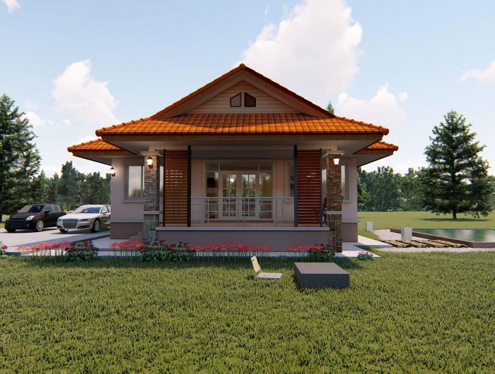 Check out first these 10 absolutely dreamy houses before you start planning and building your own! This beautiful small house designs could change your mind. With these house design, you can say to yourself the things you like and you don't like in building your own.  These houses comprise of modern, tropical, and contemporary design with bedroom ranges from one to three. They are 10 of the most comfortable, most fashionable and most impressive modern houses in this time.  Take a look and be inspired!