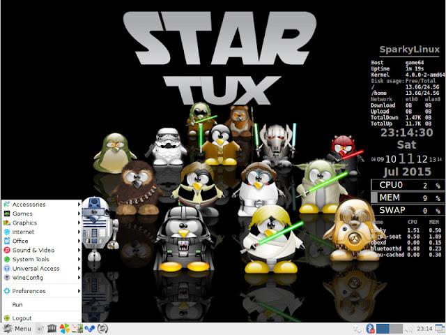 SparkyLinux: η καλύτερη έκδοση Linux για παιχνίδια