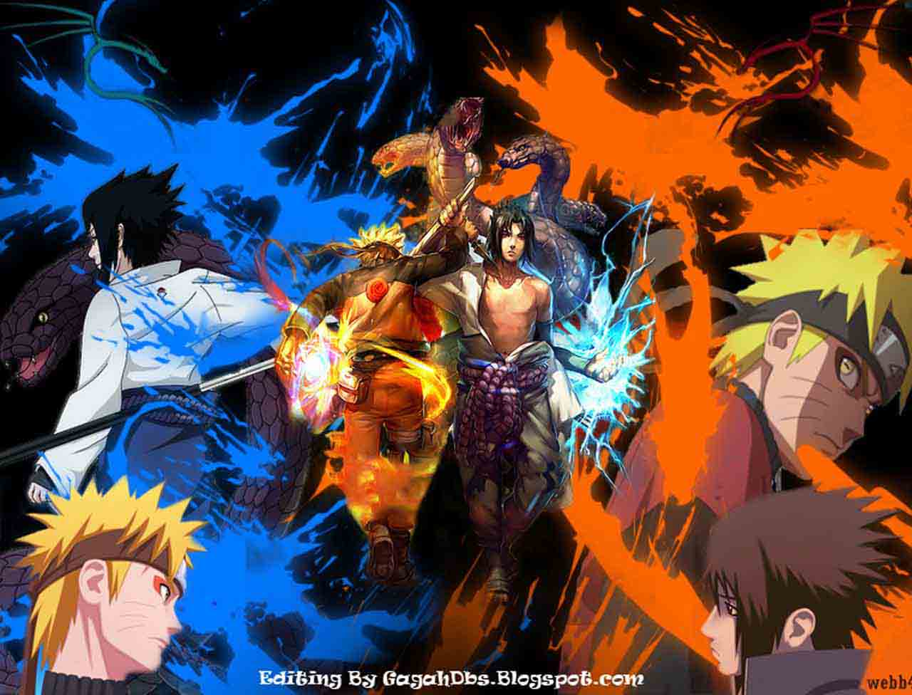 Gambar Naruto Shippuden Wallpaper Bergerak