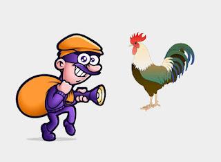 Los Ladrones y el Gallo