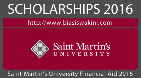 Saint Martins University Financial Aid 2016