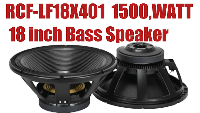 RCF-LF18X401 BASS SPEAKER PRICE AND specification