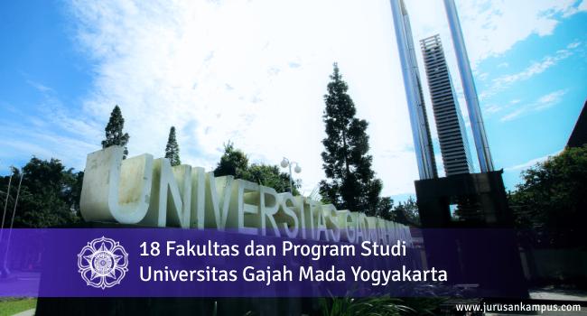 18 Fakultas dan Program Studi UGM (Universitas Gajah Mada)