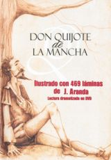 """Carátula del DVD """"Don Quijote de La Mancha"""""""