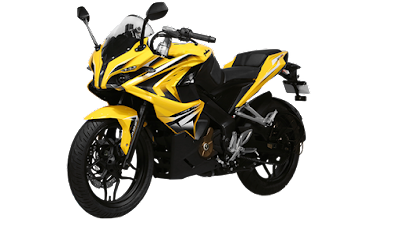 All New Bajaj Pulsar RS 200 Yellow colour HD Image 0