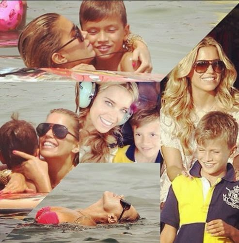 Sylvie Meis loves her son Damian