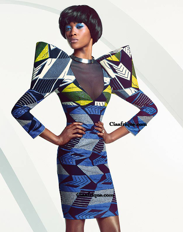 robe en pagne vlisco- kitenge dresses by vlisco