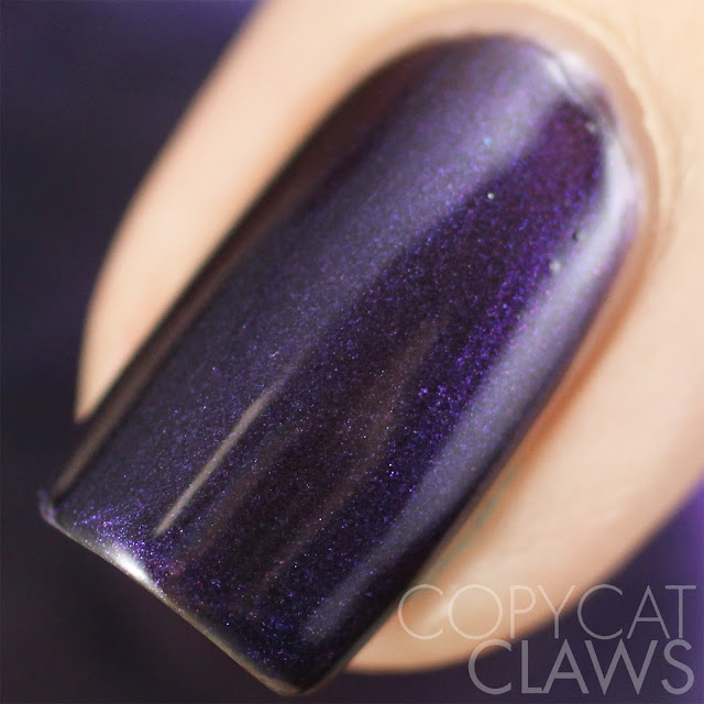 Lacquester Dark Days Violetta Swatch