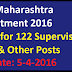 AHD Recruitment 2016 Apply for 122 Supervisor, Clerk & Other Posts