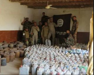 العراق : الحشد الشعبي يرفع أكثر من 600 عبوة ناسفة في قواطع عمليات الحويجة في كركوك