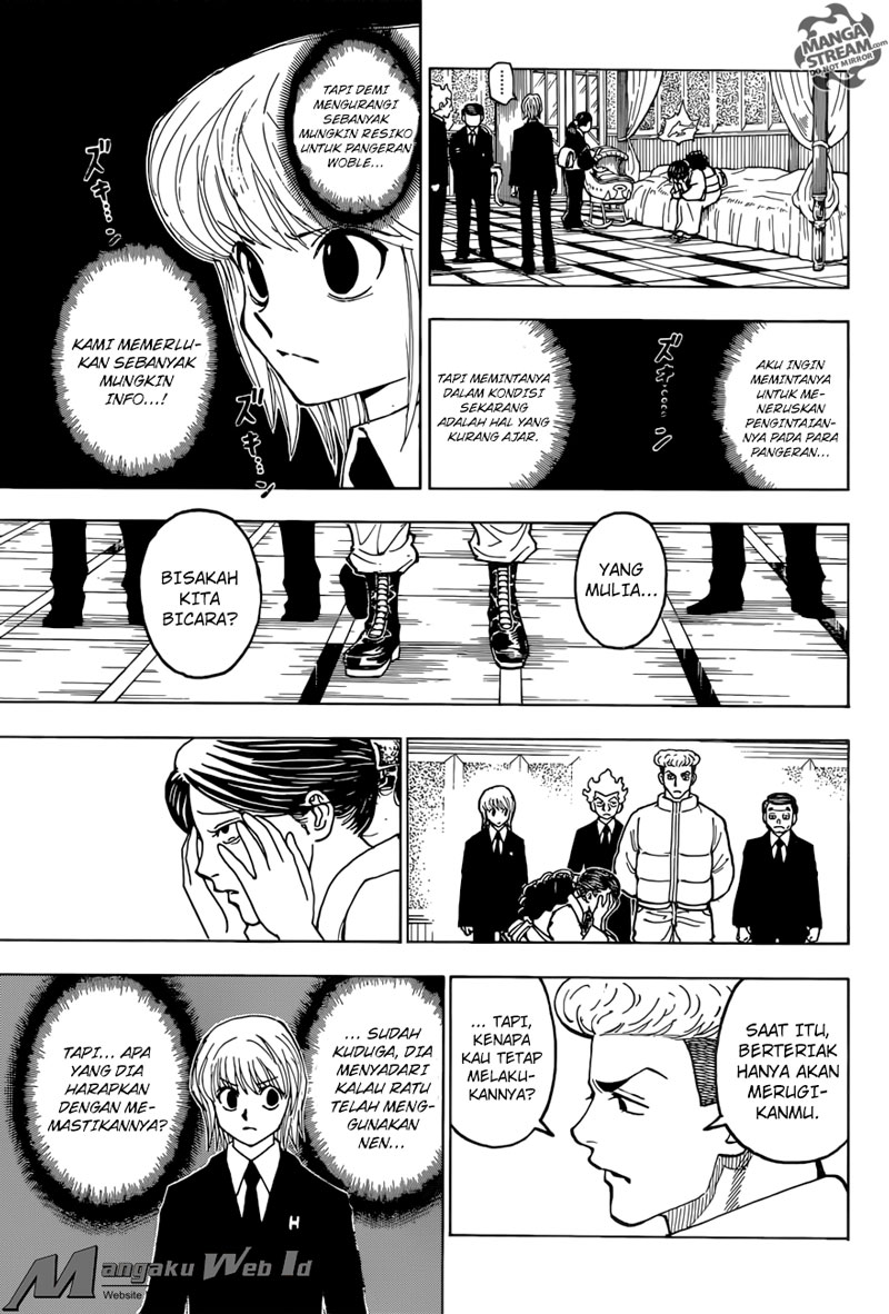 Hunter X Hunter – Chapter 368 : Pembunuh