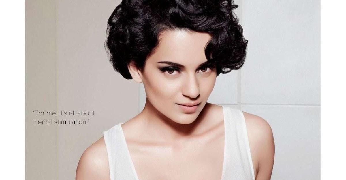 Bollywood Actresses In Maxim: Kangana Ranaut Maxim Scans