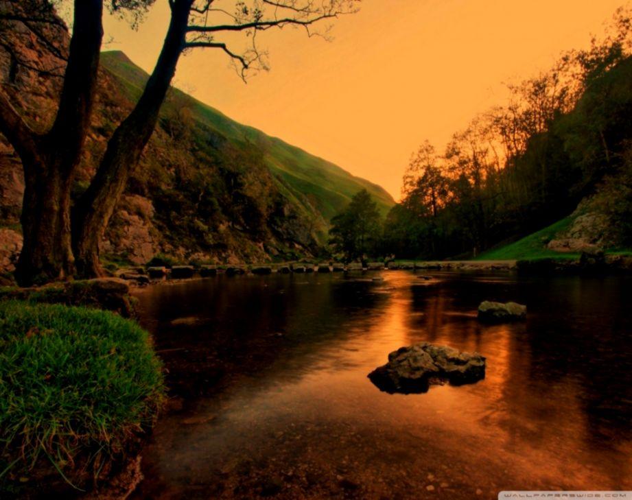 Artificial Lake ❤ 4K HD Desktop Wallpaper for 4K Ultra HD TV