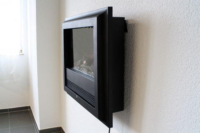 Camino elettrico a parete o da incasso n oggetto for Caminetto elettrico da parete