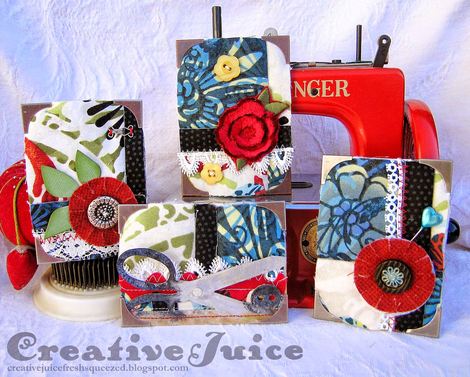 Lisa Hoel - Quilted Artist Trading Cards