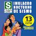 HOY JUEVES 13 SIMULACRO NOCTURNO DE SISMO