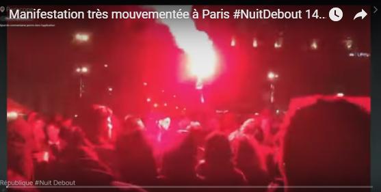 Η «Ολονυχτία» στη Γαλλία που θάβεται από τα media….