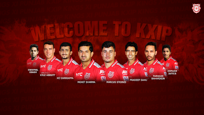 KXIP Squad IPL 11 2018 Full Team Celebration
