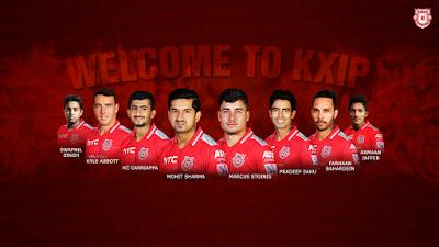 KXIP Squad IPL 11 2018 Full Team Celebration