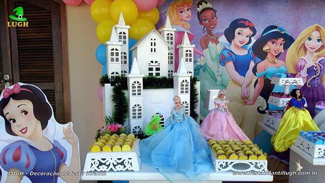 Decoração infantil Princesas da Disney - Festa de aniversário