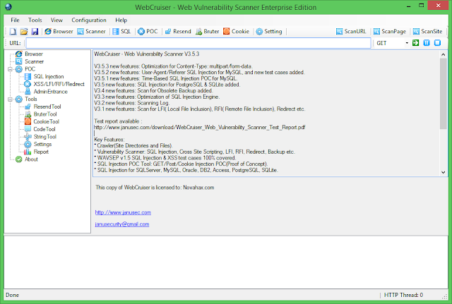webcruiser web vulnerability scanner crack