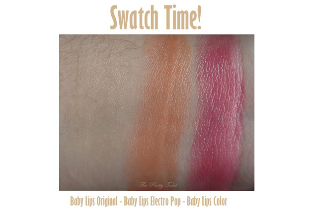 maybelline baby lips original electro pop and color review swatch